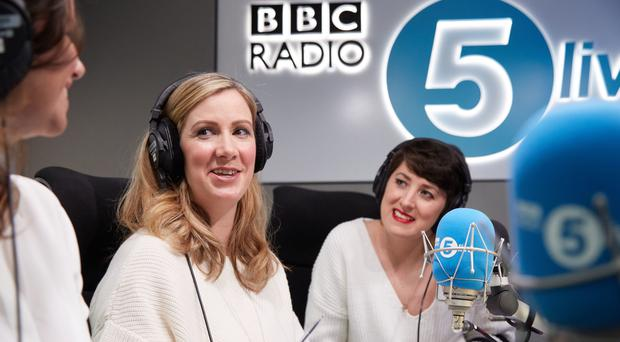 Rachael Bland, centre, has died after being diagnosed with incurable cancer (Claire Wood/BBC)