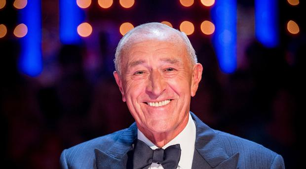 Len Goodman said he has altered his will to include donations for charity (Guy Levy/BBC)