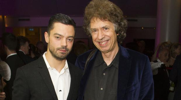 Stephen Jeffreys, right, with Dominic Cooper (Dan Wooller/REX/Shutterstock)