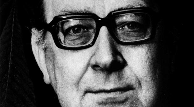 Newly released letters suggest Philip Larkin enjoyed a loving relationship with his parents (PA)