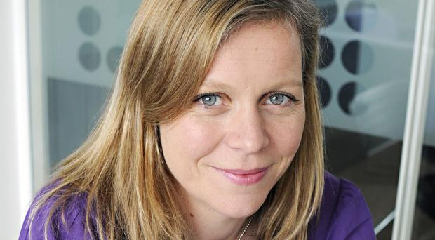 Charlotte Moore has said the media world is redressing 'historical failures' (Charlotte Steeples/BBC)