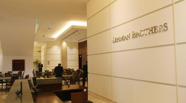 The show charts the history of Lehman Brothers (Johnny Green/PA)