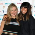 Victoria Coren-Mitchell and Claudia Winkleman arrive at the Women of the Year Lunch and Awards 2018 at the Intercontinental Hotel in London. (Jonathan Brady/PA)