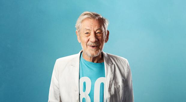 Sir Ian McKellen will celebrate his 80th birthday with a tour of 80 regional theatres (Oliver Rosser/PA)