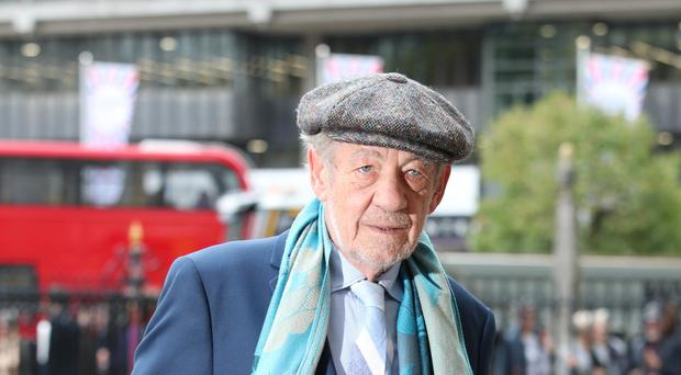 Sir Ian McKellen will tour the UK in support of regional theatre (Yui Mok.PA)