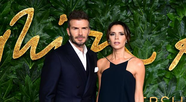 david and victoria beckham celebrate new year with family party