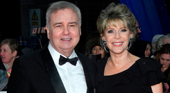 Eamonn Holmes and Ruth Langsford attend the National Television Awards held at the O2 Arena