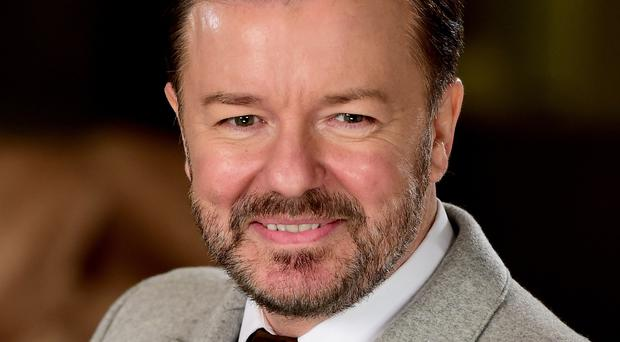 Ricky Gervais has signed a letter condemning Japanese whaling (Ian West/PA)