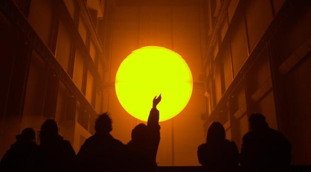 Olafur Eliasson's installation The Weather Project (Johnny Green/PA)