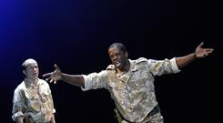 Othello at The National Theatre, one of the organisations whose diversity has been recorded (Catherine Ashmore/NT)