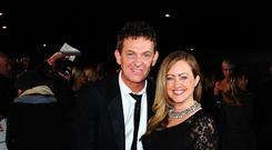 Matthew Wright and his wife Amelia (PA)
