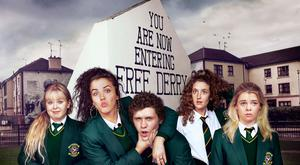 The cast of Derry Girls
