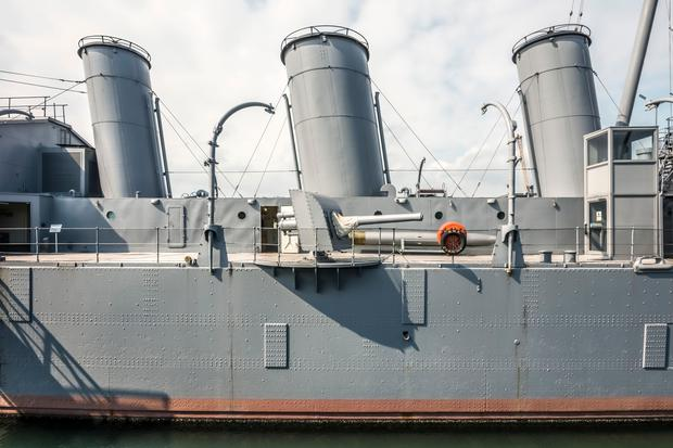 HMS Caroline in Belfast has been named as a finalist. (Marc Atkins)