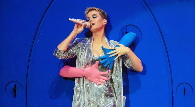 Katy Perry (Danny Lawson/PA)