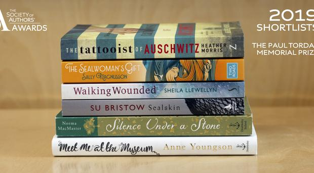 A debut novelist in her 80s has been nominated in the Society of Authors' Awards (Society of Authors)