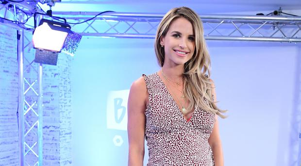 I was called a 'disgrace' for exercising while pregnant – Vogue Williams (Ian West/PA)