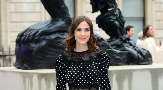 Alexa Chung attending the Royal Academy of Arts Summer Exhibition (Ian West/PA)