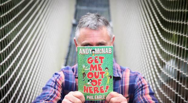 Andy McNab said he wanted to make some children's books that everyone could enjoy (Matt Alexander/PA)