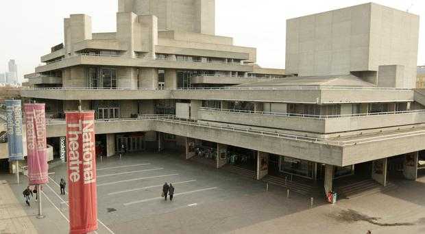 The National Theatre, on London's Southbank (Dominic Lipinski/PA)