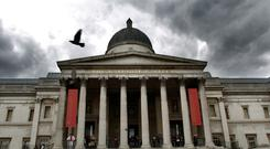 London-based organisations, such as the National Gallery, receive more donations. (Ian Nicholson/PA)