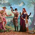 Eleanor Antin Judgment Of Paris (After Rubens), 2007, from Helen's Odyssey, (Eleanor Antin. Courtesy the artist and Ronald Feldman Gallery, New York)