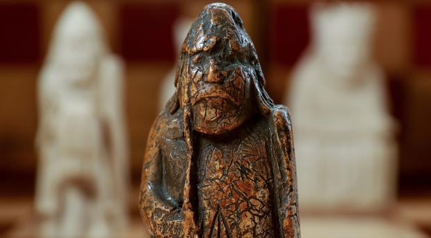 Missing Lewis Chessmen piece bought for five pounds (Tristan Fewings/Getty Images for Sotheby's/PA)