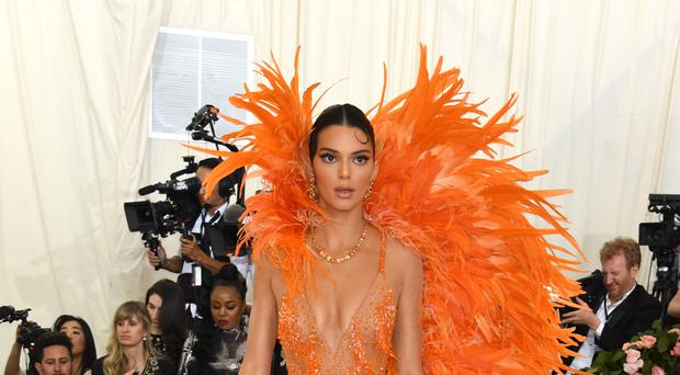 Supermodel Kendall Jenner shared her take on the viral bottle cap challenge (Jennifer Graylock/PA)