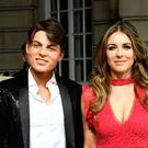 Damian and Liz Hurley (Ian West/PA)