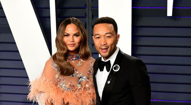 Chrissy Teigen and John Legend's son Miles has taken his first steps (Ian West/PA)
