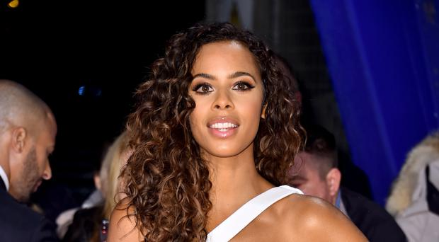 Rochelle Humes is on the cover of Women's Health magazine's Naked Issue (PA)