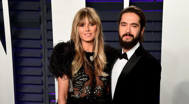 Heidi Klum shares picture from idyllic Capri wedding to Tom Kaulitz (Ian West/PA)