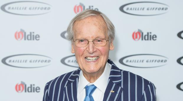 Nicholas Parsons, 95, has missed a recording of Just A Minute for only the second time ever (Dominic Lipinski/PA)