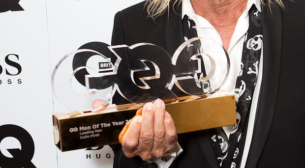 Iggy Pop, here holding Colin Firth's award, is among the stars to have won at the awards in recent years (Daniel Leal-Olivas/PA)