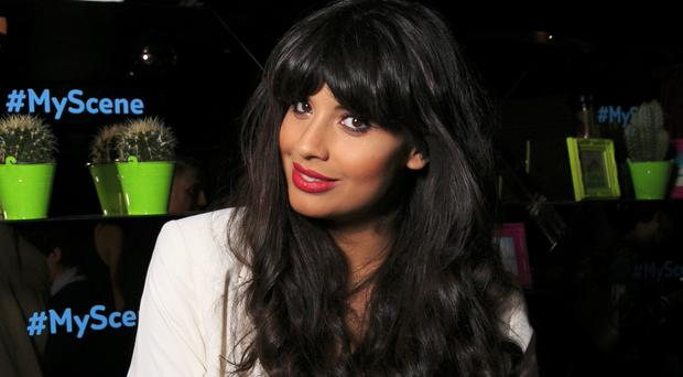 Jameela Jamil has become internationally famous since appearing in US sitcom The Good Place (John Phillips/PA)
