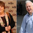 Kathy Burke wished good luck to John Humphrys after he hosted his final Today programme (PA Wire/PA)