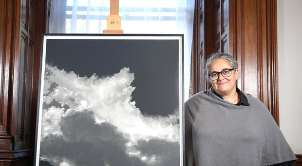 British artist Tacita Dean has been awarded with the Robson Orr TenTen Award 2019 (Matt Alexander/PA)
