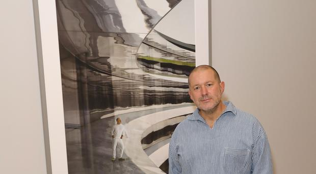National Portrait Gallery unveils new portrait commission of Sir Jonathan Ive by Andreas Gursky (Darren Gerrish/WireImage for National Portrait Gallery)