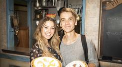 Zoe Sugg nearly walked out on brother Joe's West End debut because of anxiety (PA)