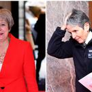 Theresa May and Cressida Dick were pictured at the Women of the Year Awards (PA).