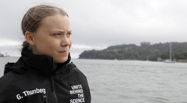Climate activist Greta Thunberg is one of the subjects in the book. (Kirsty Wigglesworth/PA)