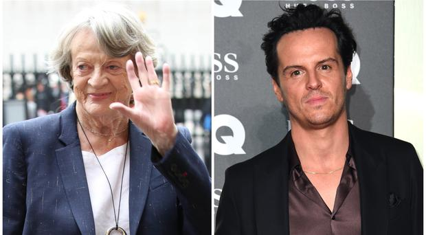 Dame Maggie Smith and Andrew Scott win top prizes at theatre awards (PA Wire/PA)