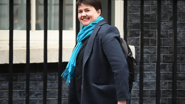 Scottish Conservative leader Ruth Davidson (Kirsty O'Connor/PA)