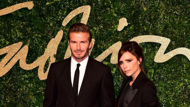 David Beckham has been appointed Ambassadorial President of the British Fashion Council (Ian West/PA)