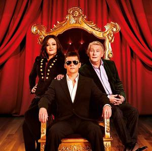 The show stars former EastEnders actor Nigel Harman, centre, as Simon Cowell