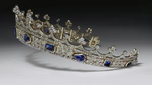 The coronet being acquired by the VandA (Victoria And Albert Museum)
