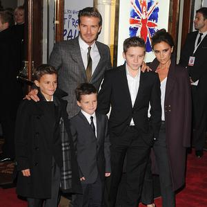 David Beckham has told his sons not to get tattoos like he has