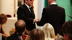 Sir Elton and David Furnish put up pictures of their wedding on Instagram