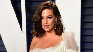 Ashley Graham shares picture of herself in labour on International Women's Day (Ian West/PA)