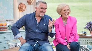 Paul Hollywood and Mary Berry judge the Great British Bake Off (BBC/PA)