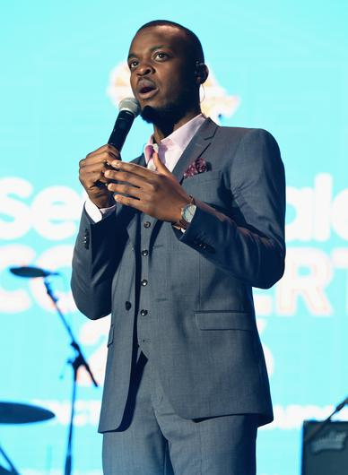 George The Poet won influencer/journalist of the year (Tabatha Fireman/PA)
